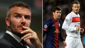 David Beckham Reveals Exactly How Lionel Messi Forced Him Into Retirement
