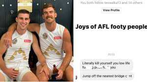 AFL Player Scott Lycett Cops Disgusting Abuse On Social Media