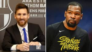 NBA Stars Are In Disbelief Over Lionel Messi's Mammoth Barcelona Contract