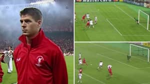 Steven Gerrard vs AC Milan In The 2005 Champions League Final Is One Of The All-Time Great Individual Performances