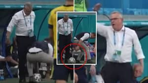 Sweden Manager Janne Andersson Produced A Filthy Nutmeg, Then Snatched A Soul In Euro 2020's Coldest Moment