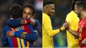 Neymar Still Loves Barcelona And Wants To Play With Eden Hazard