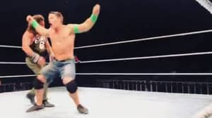John Cena Returns In WWE Live Event And Debuts Brand New, Bizarre Finisher