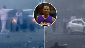 Kobe Bryant Helped Out At Scene Of Car Crash Last Month