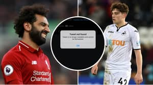 Manchester United Target Daniel James Drops Transfer Hint After Deleting Salah Tweet