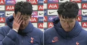 Son Heung-Min Close To Tears In Emotional Interview After Defeat To Manchester United