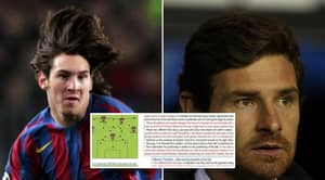 André Villas-Boas' Scout Report On 18-Year-Old Lionel Messi Surfaces, Reveals Extra Precautions Taken To Stop Him