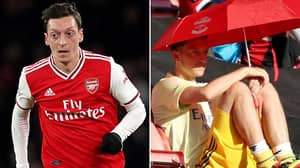 Mesut Ozil Could Be Left Out Of Arsenal's 25-Man Premier League Squad While Earning £350,000-Per-Week