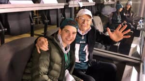 99-Year-Old Eagles Fan With Rags-To-Riches History Celebrates Super Bowl Win