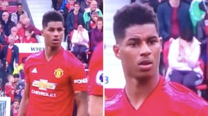 Man Utd Fan Couldn't Believe Marcus Rashford Was Stepping Up To Take Another Free Kick