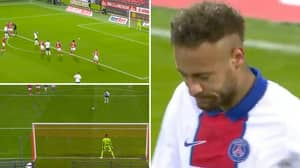 Neymar 'Psyched Out' By Brest Goalkeeper's Bizarre Tactics As PSG Star Missed Dreadful Penalty