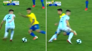 Juan Foyth Sends Philippe Coutinho Back To Barcelona During Copa America