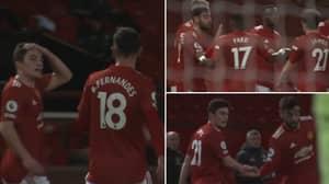 Bruno Fernandes Stopped Goal Celebration To Give Advice To Daniel James
