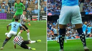 Kyle Walker Confuses Everyone With His Socks But There's Actually A Good Reason