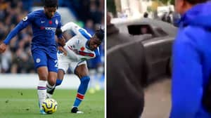 Wilfried Zaha Reportedly Uses 'Your Mum' Joke In Dispute With Chelsea Fan
