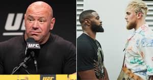 Dana White Savagely Slams Tyron Woodley Ahead Of Jake Paul Boxing Bout