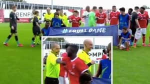 Liverpool And Benfica Players Come Up With Brilliant Alternative To Handshakes