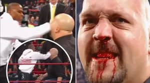 When Floyd Mayweather Genuinely Broke The Big Show's Nose At WWE No Way Out