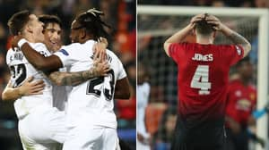 Michy Batshuayi Savagely Trolls Phil Jones' Face After Valencia Beat Manchester United