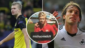 Erling Haaland Idolised Premier League Cult Hero Michu While Growing Up