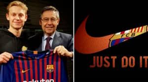 Frenkie De Jong Has Gone Against Nike's Request For Barcelona Move