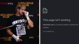 Logan Paul Wears QR Code T-Shirt During Live TV Interview, Crypto Website It Links To Crashes