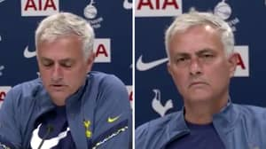 Jose Mourinho's Classy Gesture To Help Reporter Pay Tribute To His Late Father In Press Conference