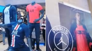Images Of Neymar Removed From Paris Saint-Germain's Official Club Store