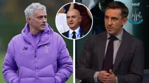 Gary Neville Says Jose Mourinho And Daniel Levy Are In A 'Marriage Of Convenience'