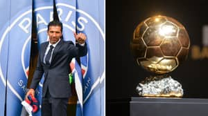 Gianluigi Buffon Names His Pick For Ballon d'Or Winner