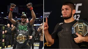 Kamaru Usman's Response When Asked If He'd Fight Khabib In UFC Super-Fight