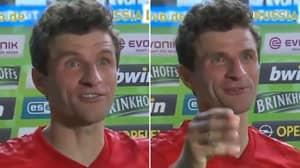 Thomas Muller Calls Alphonso Davies 'The FC Bayern Roadrunner' After His Blistering Pace Vs Borussia Dortmund