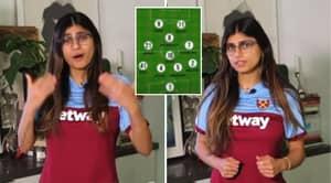 Former Adult Star Mia Khalifa Names Her Premier League Dream Team