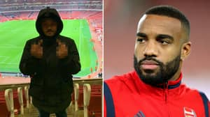 """Lacazette 'Likes' Instagram Post Calling For Emery To Be Sacked And Xhaka To """"F**k Off"""""""