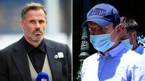 Jamie Carragher Angrily Reacts To Harry Maguire Being Accused Of Bribing Mykonos Police