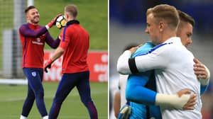 Jack Butland Texted Joe Hart After His England World Cup Squad Omission