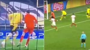 Full Footage Shows Erling Haaland's Celebration In Sevilla Goalkeeper's Face Was 'Karma'