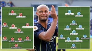 Vincent Kompany's Testimonial Is Full Of Legends, Including Thierry Henry, Paul Scholes And Sergio Aguero
