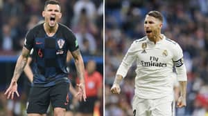 Lovren Calls Ramos Out For Making More Mistakes Than Him, Madrid Captain Now Responds
