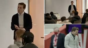 Scott Parker's Team Talk Before Fulham Beat Liverpool At Anfield Is Genuinely Electrifying