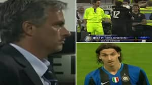 Rare Footage Of Jose Mourinho Substituting His Goalkeeper Before Zlatan Ibrahimovic Is Peak Sh*thousery