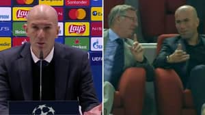 Zinedine Zidane's Future At Real Madrid In Doubt After He Mentions Sir Alex Ferguson In Post-Match Press Conference