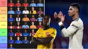 Football Fan Ranks Premier League Wingers From 'World Class' To 'Theo Walcott'
