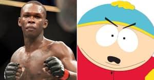 Israel Adesanya Bizarrely Accuses Rival Of Having 'Eric Cartman Mentality' After UFC 263 Win