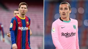 Antoine Griezmann Will Be Asked To Find A New Club If Lionel Messi Stays
