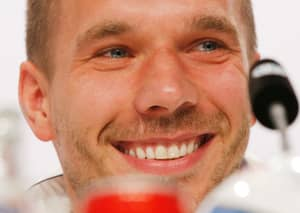 Lukas Podolski's Song Reaches No.1 In The German Charts