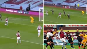 Ollie Watkins Scores Sensational First Half Hat-Trick As Aston Villa Go 4-1 Up Against Liverpool
