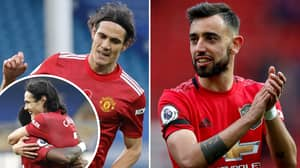 Bruno Fernandes Explains Important Reason He Passed To Edinson Cavani For First Man United Goal