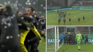 The Incredible Scenes At Full-Time After German Second Division Side Holstein Kiel Knock Out Bayern Munich