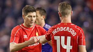 Steven Gerrard Sends Message To Jordan Henderson After He Becomes Premier League Winning Captain